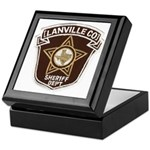 Lanville County Sheriff Keepsake Box