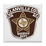 Lanville County Sheriff Tile Coaster