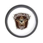 Lanville County Sheriff Wall Clock