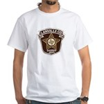 Lanville County Sheriff White T-Shirt