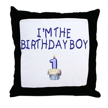 Birthday Boy 1 Throw Pillow