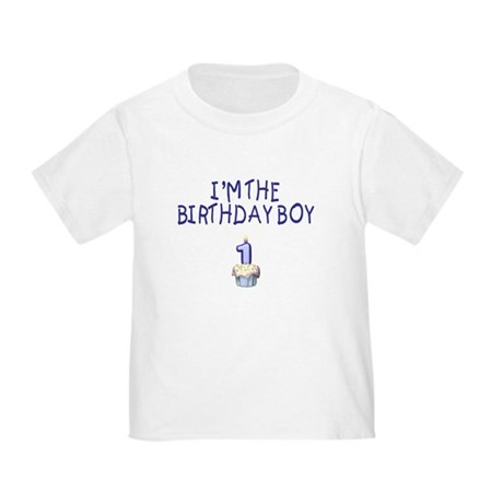 Birthday Boy 1 Toddler T-Shirt