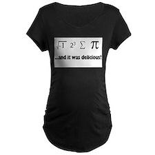 I Ate Sum Pi Maternity T-Shirt