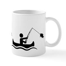 Canoe Fishing Mug