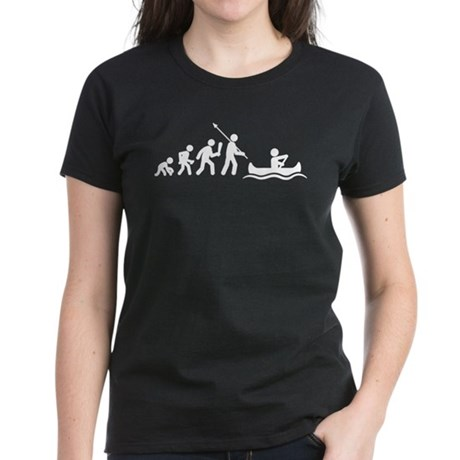 Canoeing Women's Dark T-Shirt