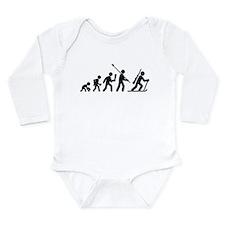 Biathlon Long Sleeve Infant Bodysuit