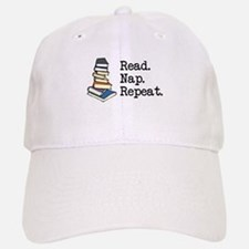 Read. Nap. Repeat. Baseball Baseball Cap