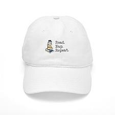 Read. Nap. Repeat. Baseball Cap