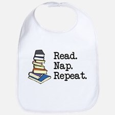 Read. Nap. Repeat. Bib