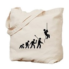 Abseiling Tote Bag