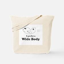 wide body Tote Bag