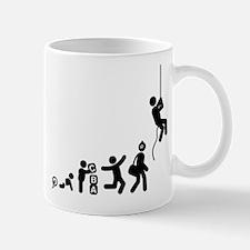 Abseiling Mug