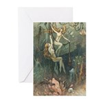 Sea Nymphs Greeting Cards (Pk of 10)