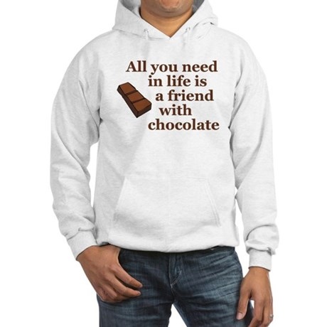 All you need in life is a friend with chocolate Ho