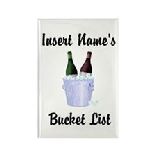 Insert Name Personalized Wine Bucket List Rectangl