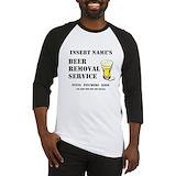 Beer Baseball Tee