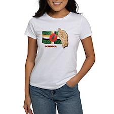 Dominica Ash Grey T-Shirt T-Shirt