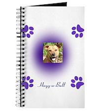hugg-a-bull purple Journal