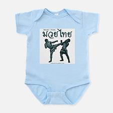 Muay Thai Infant Creeper