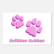 Critter Cutter Postcards (Package of 8)