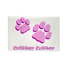 Critter Cutter Rectangle Magnet