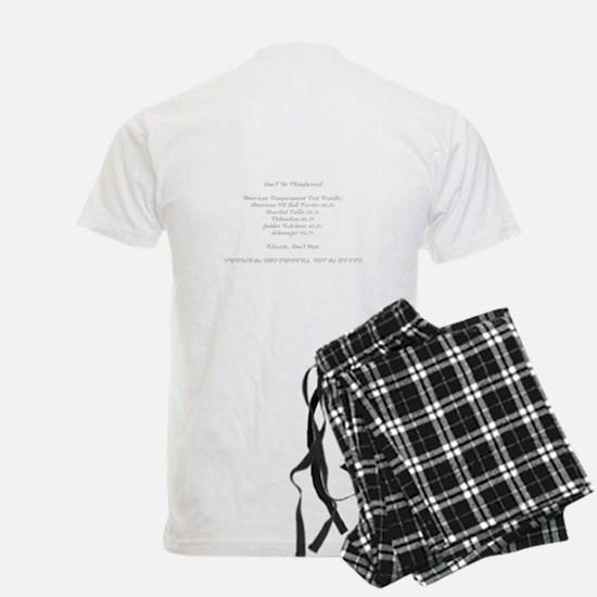 2 sided Love-a-Bull Grey Pajamas