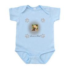 Love-a-Bull Grey Infant Bodysuit