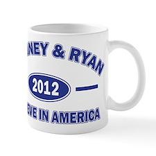 Romney and Ryan Believe in America Mug