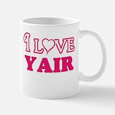I Love Yair Mugs