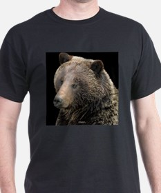 Grizzly Apparel (pm) Black T-Shirt