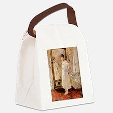 The Mirror, Berthe Morisot Canvas Lunch Bag