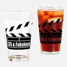 HAPPY 35TH BIRTHDAY Drinking Glass