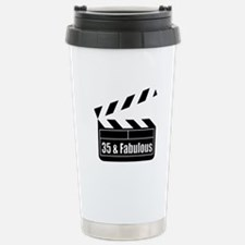 HAPPY 35TH BIRTHDAY Stainless Steel Travel Mug