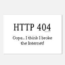 I Broke the Internet! Postcards (Package of 8)