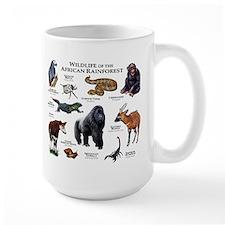 Wildlife of the African Rainforests Coffee Mug