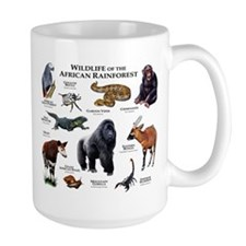 Wildlife of the African Rainforests Mug