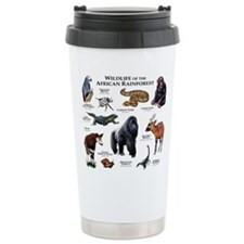 Wildlife of the African Rainforests Travel Mug