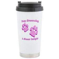 Dog Grooming A Shear Delight. Travel Mug