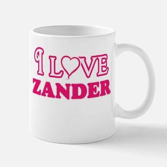 I Love Zander Mugs