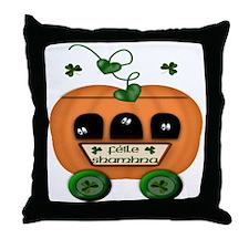 Gaelic Ghost Wagon Throw Pillow