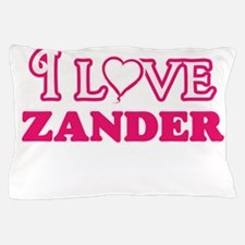I Love Zander Pillow Case