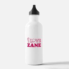 I Love Zane Sports Water Bottle