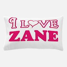 I Love Zane Pillow Case