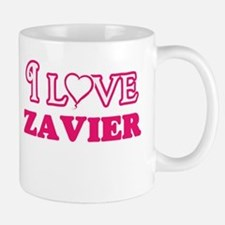 I Love Zavier Mugs