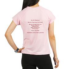 2 sided Hugg-a-bull dk red Performance Dry T-Shirt