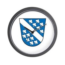 Kassel Coat of Arms Wall Clock
