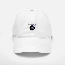 SINGLE & SCORPIO! Baseball Baseball Cap