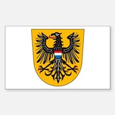 Heilbronn Coat of Arms Rectangle Decal