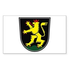 Heidelberg Coat of Arms Rectangle Decal
