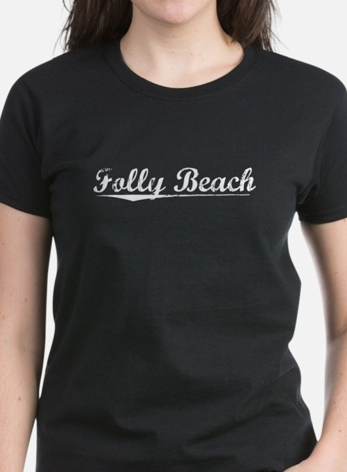 Aged, Folly Beach Tee